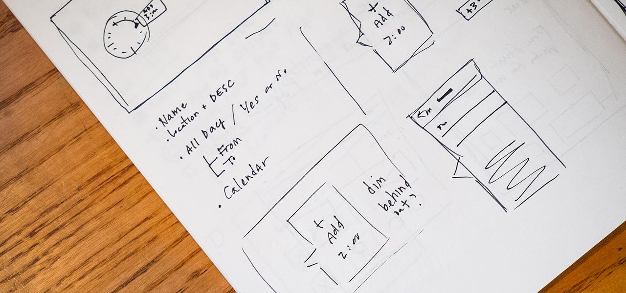 UI/UXデザイナーのイメージ